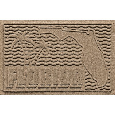 Aqua Shield Florida Doormat Color: Camel