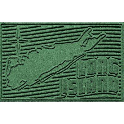 Aqua Shield Long Island Doormat Color: Light Green