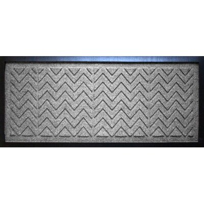 Conway Chevron Boot Tray Color: Medium Gray