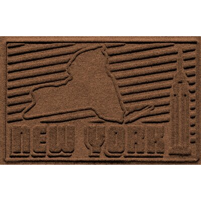 Aqua Shield New York Doormat Color: Dark Brown