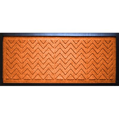Aqua Shield Chevron Boot Tray Color: Orange
