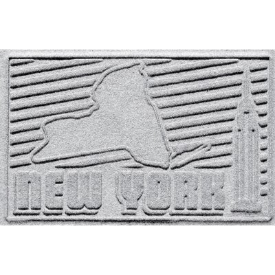 Aqua Shield New York Doormat Color: White