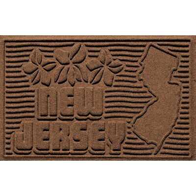 Aqua Shield New Jersey Doormat Color: Dark Brown
