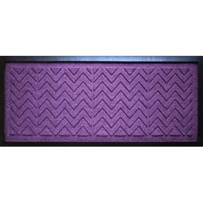 Conway Chevron Boot Tray Color: Purple