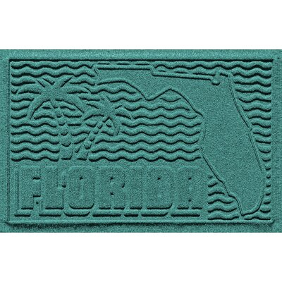Aqua Shield Florida Doormat Color: Aquamarine