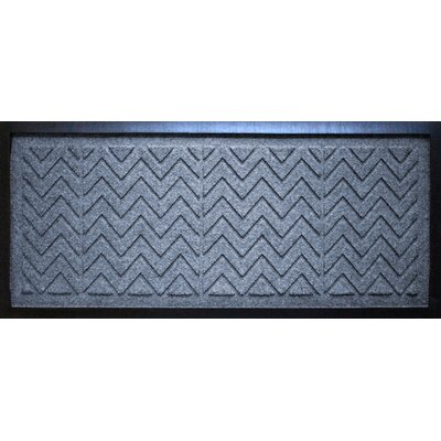 Aqua Shield Chevron Boot Tray Color: Bluestone