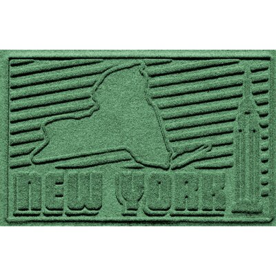 Aqua Shield New York Doormat Color: Light Green