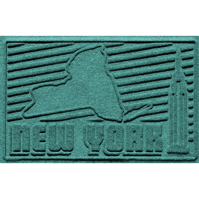 Aqua Shield New York Doormat Color: Aquamarine