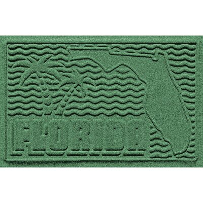 Aqua Shield Florida Doormat Color: Light Green
