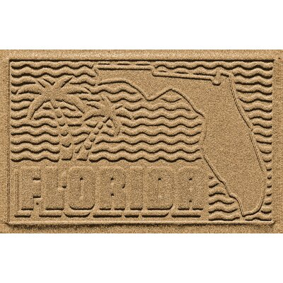 Aqua Shield Florida Doormat Color: Gold