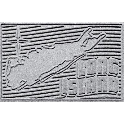 Aqua Shield Long Island Doormat Color: White