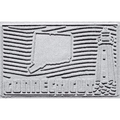Aqua Shield Connecticut Doormat Color: White