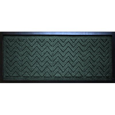 Conway Chevron Boot Tray Color: Evergreen