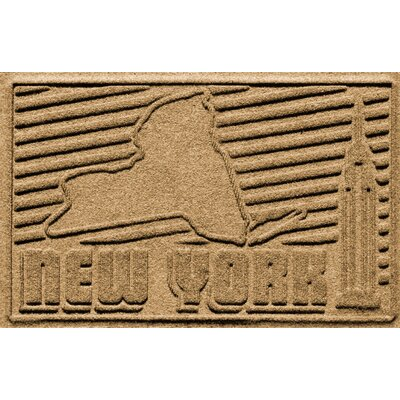 Aqua Shield New York Doormat Color: Gold