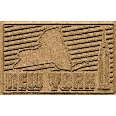 Aqua Shield New York Doormat Color: Gold