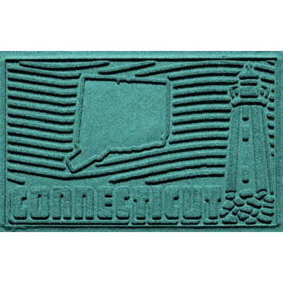 Aqua Shield Connecticut Doormat Color: Aquamarine
