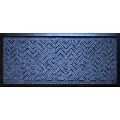 Aqua Shield Chevron Boot Tray Color: Navy