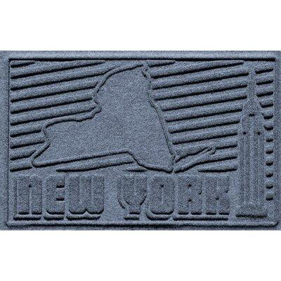 Aqua Shield New York Doormat Color: Bluestone