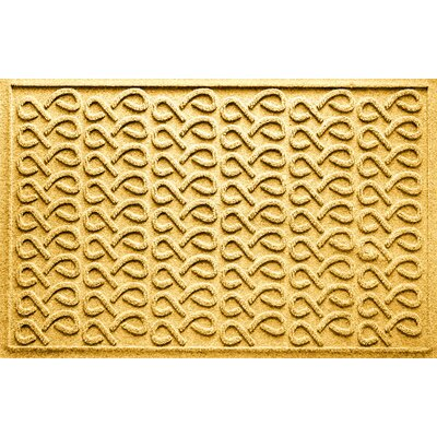 Aqua Shield Cunningham Doormat Color: Yellow