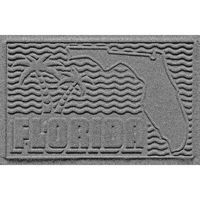 Aqua Shield Florida Doormat Color: Medium Gray