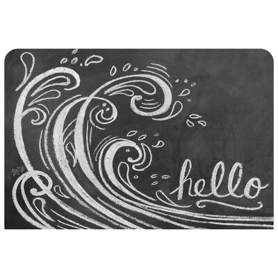 Surfaces Wave Hello Accent Doormat