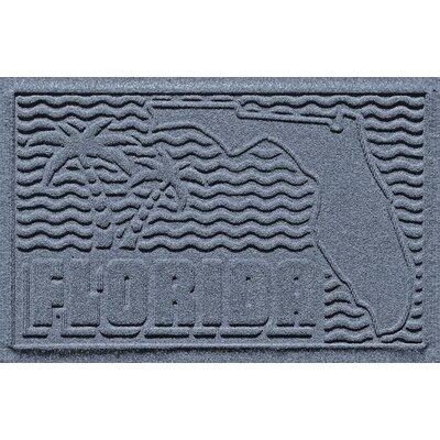 Aqua Shield Florida Doormat Color: Bluestone