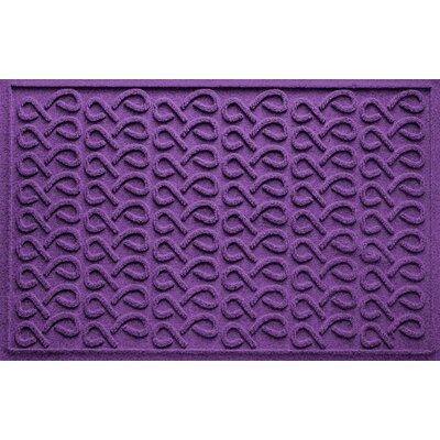 Aqua Shield Cunningham Doormat Color: Purple
