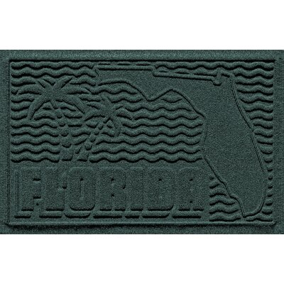 Aqua Shield Florida Doormat Color: Evergreen