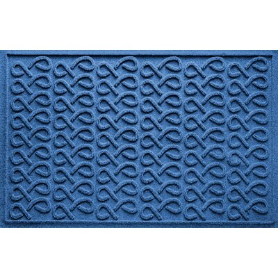 Aqua Shield Cunningham Doormat Color: Medium Blue