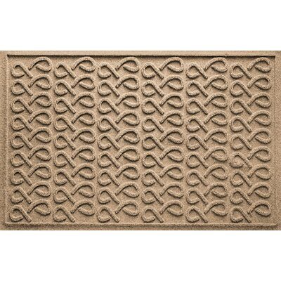 Aqua Shield Cunningham Doormat Color: Camel