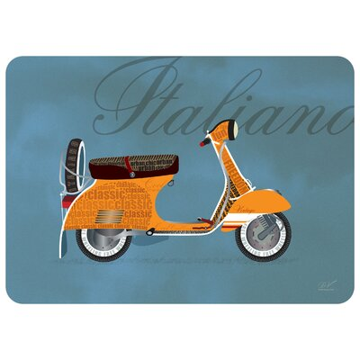 Surfaces Italiano Vespa Accent Doormat