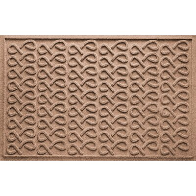 Aqua Shield Cunningham Doormat Color: Medium Brown