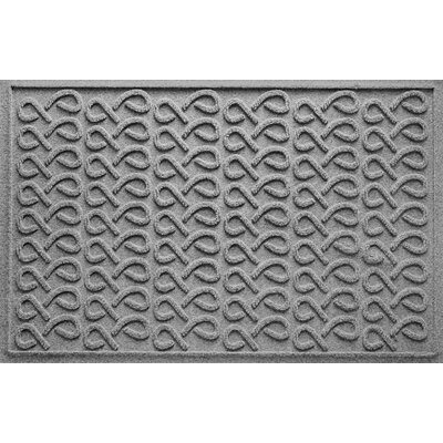 Aqua Shield Cunningham Doormat Color: Medium Gray