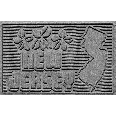 Aqua Shield New Jersey Doormat Color: Medium Gray