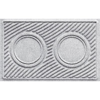 Aqua Shield Wave Pet Feeder Doormat Color: White