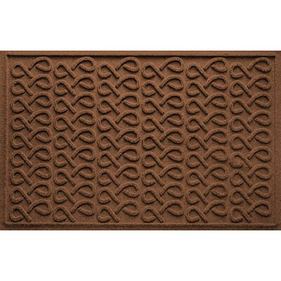 Aqua Shield Cunningham Doormat Color: Dark Brown