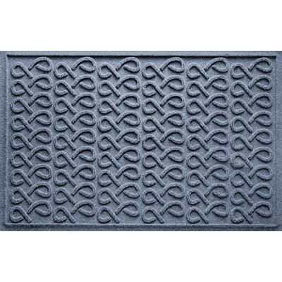 Aqua Shield Cunningham Doormat Color: Bluestone