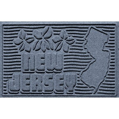 Aqua Shield New Jersey Doormat Color: Bluestone