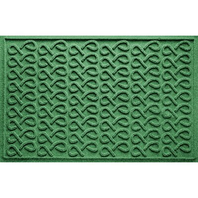 Aqua Shield Cunningham Doormat Color: Light Green