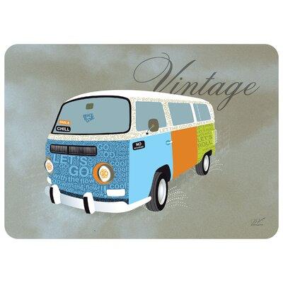 Surfaces Hippie Van Accent Doormat