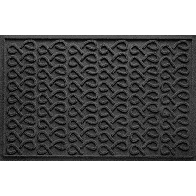 Aqua Shield Cunningham Doormat Color: Charcoal