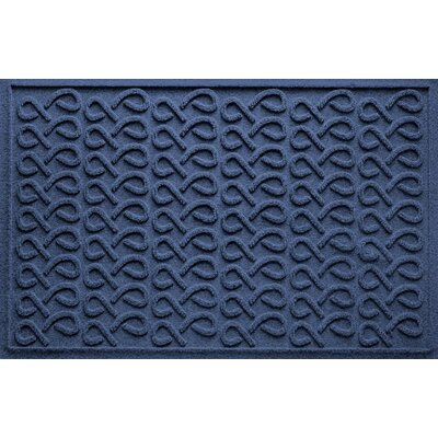 Aqua Shield Cunningham Doormat Color: Navy