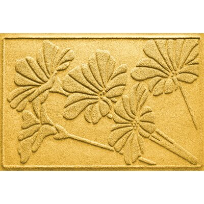Aqua Shield Spring Flowers Doormat Color: Yellow