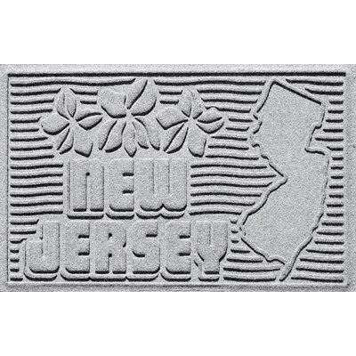 Aqua Shield New Jersey Doormat Color: White
