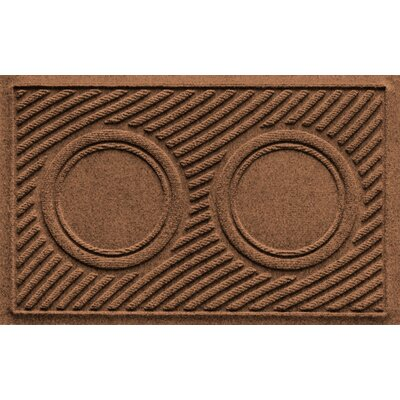 Aqua Shield Wave Pet Feeder Doormat Color: Dark Brown