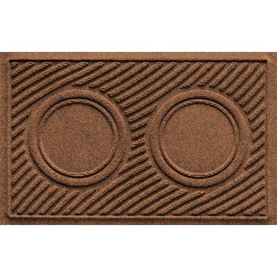 Aqua Shield Wave Pet Feeder Doormat Color: Dark Brown