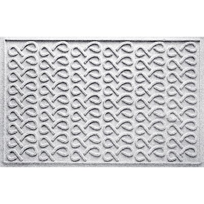 Aqua Shield Cunningham Doormat Color: White