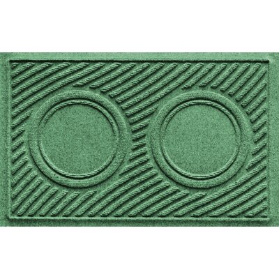 Aqua Shield Wave Pet Feeder Doormat Color: Light Green