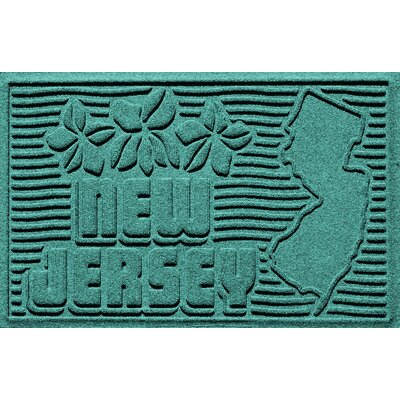 Aqua Shield New Jersey Doormat Color: Aquamarine
