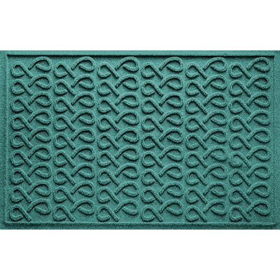 Aqua Shield Cunningham Doormat Color: Aquamarine
